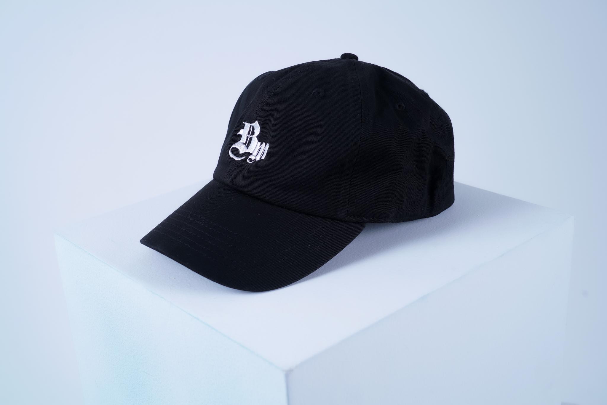BW COTTON CAP [BLACK]
