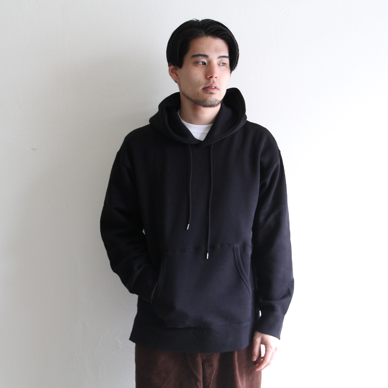 STILL BY HAND  【 mens 】裏起毛 sweat parka