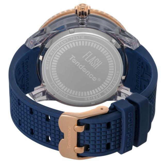 【Tendence テンデンス】TY532004 FLASHフラッシュ(ブルー)/国内正規品 腕時計