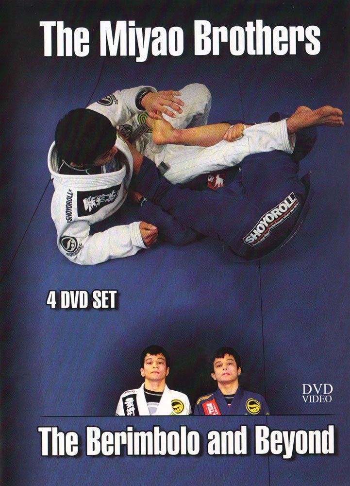 ミヤオブラザーズ  ザ・ベリンボロ&ビヨンド DVD4枚セット ブラジリアン柔術教則