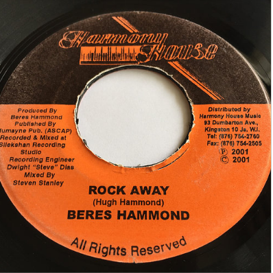 Beres Hammond(ベレスハモンド) - Rock Away【7'】
