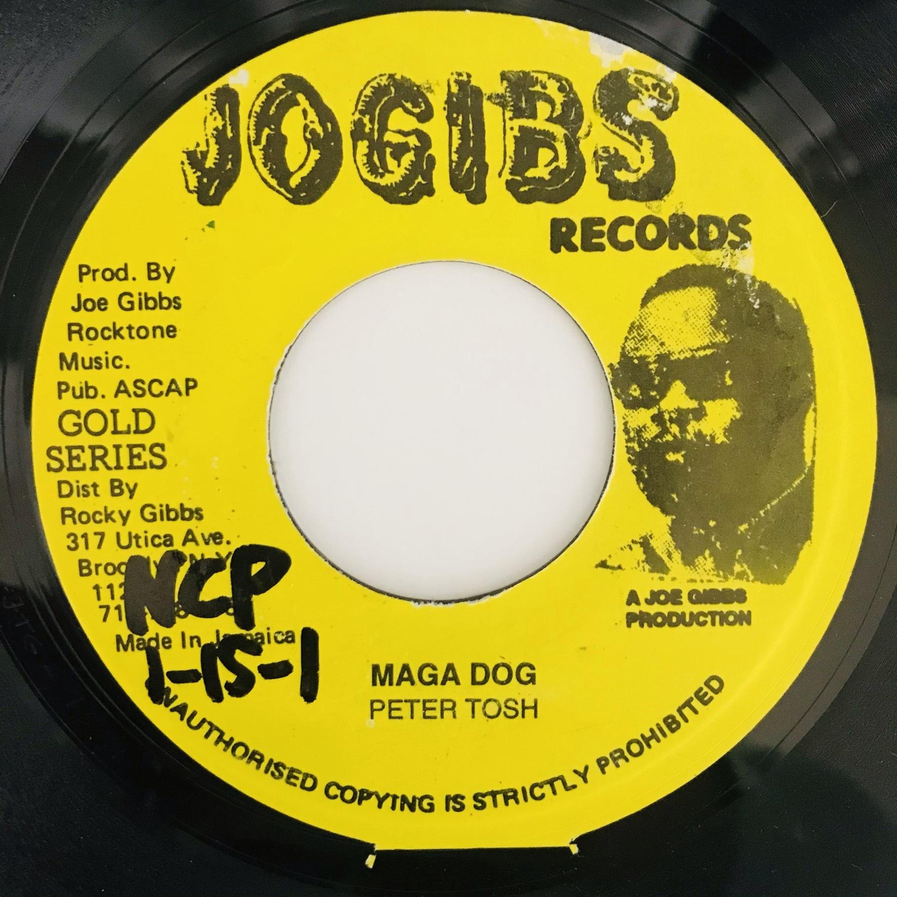 Peter Tosh - Maga Dog【7-11045】