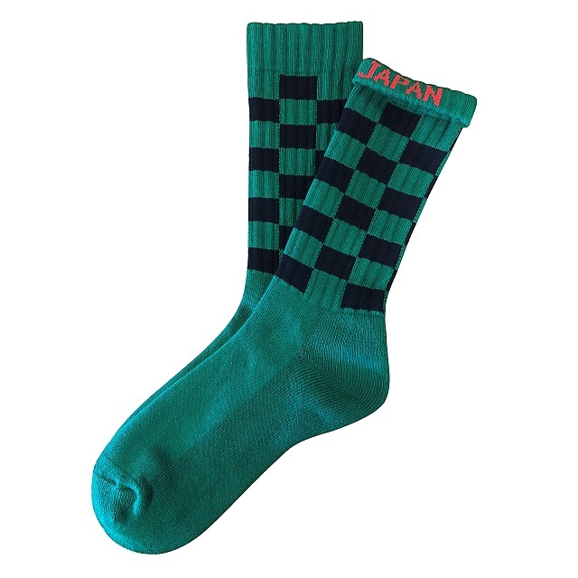 """CHECKER -呼吸- "" Socks"