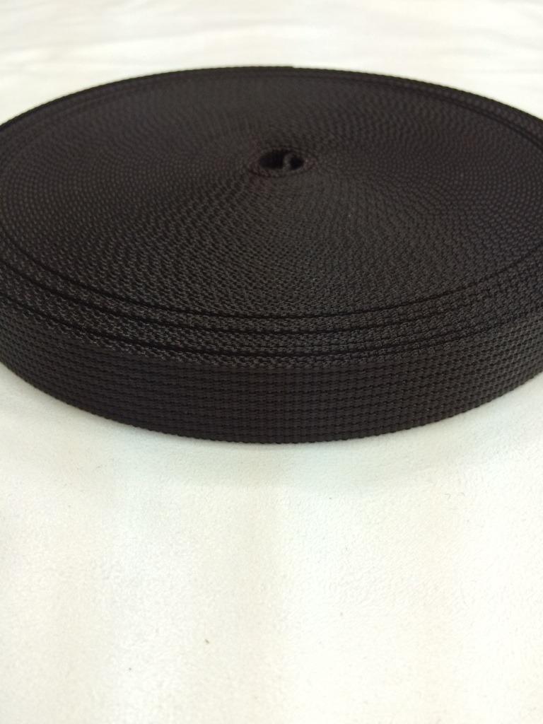 ナイロン  12本トジ  25mm幅  1.5mm厚  カラー(黒以外)  1m