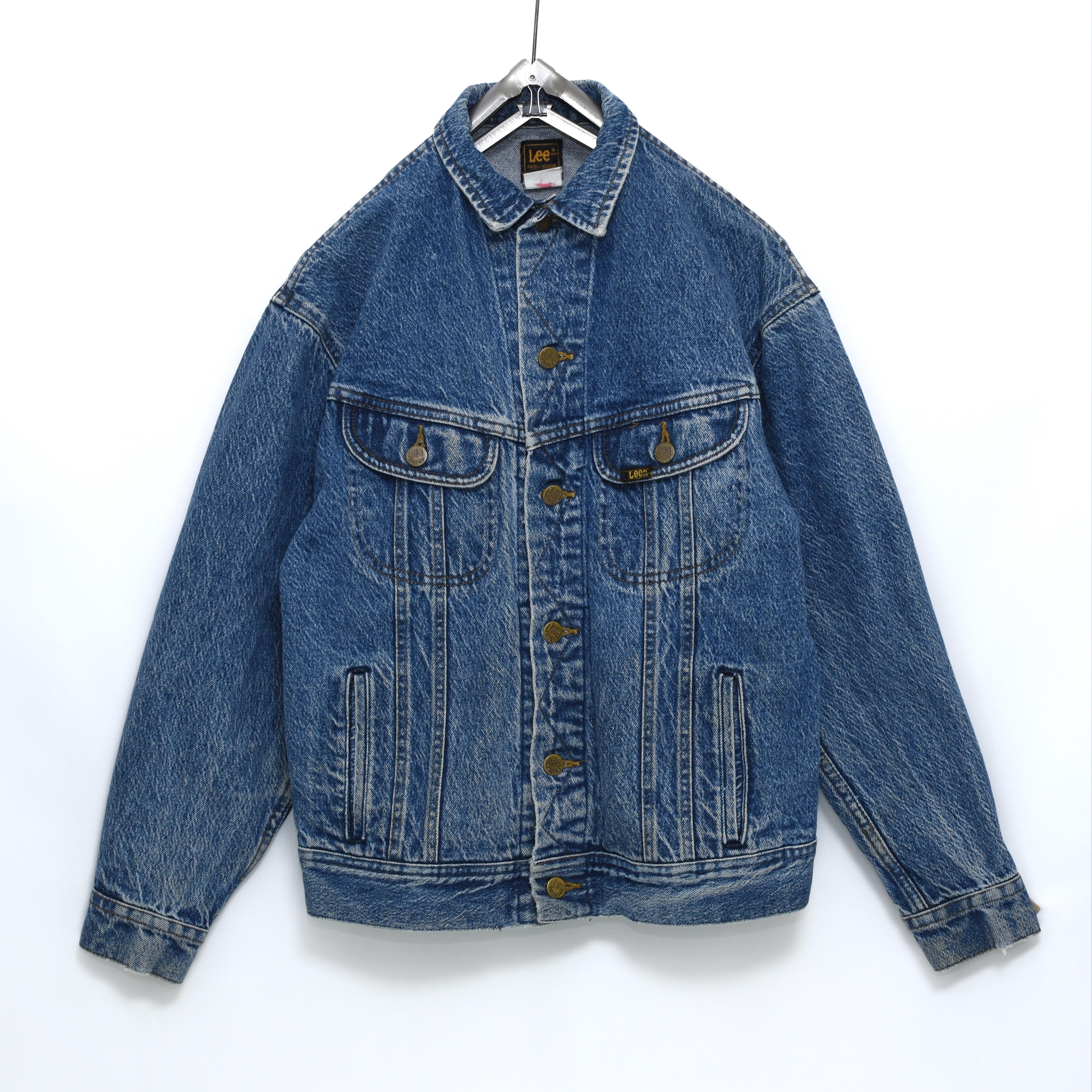 Lee PATD-153438 デニムジャケット サイドポケット付き Gジャン