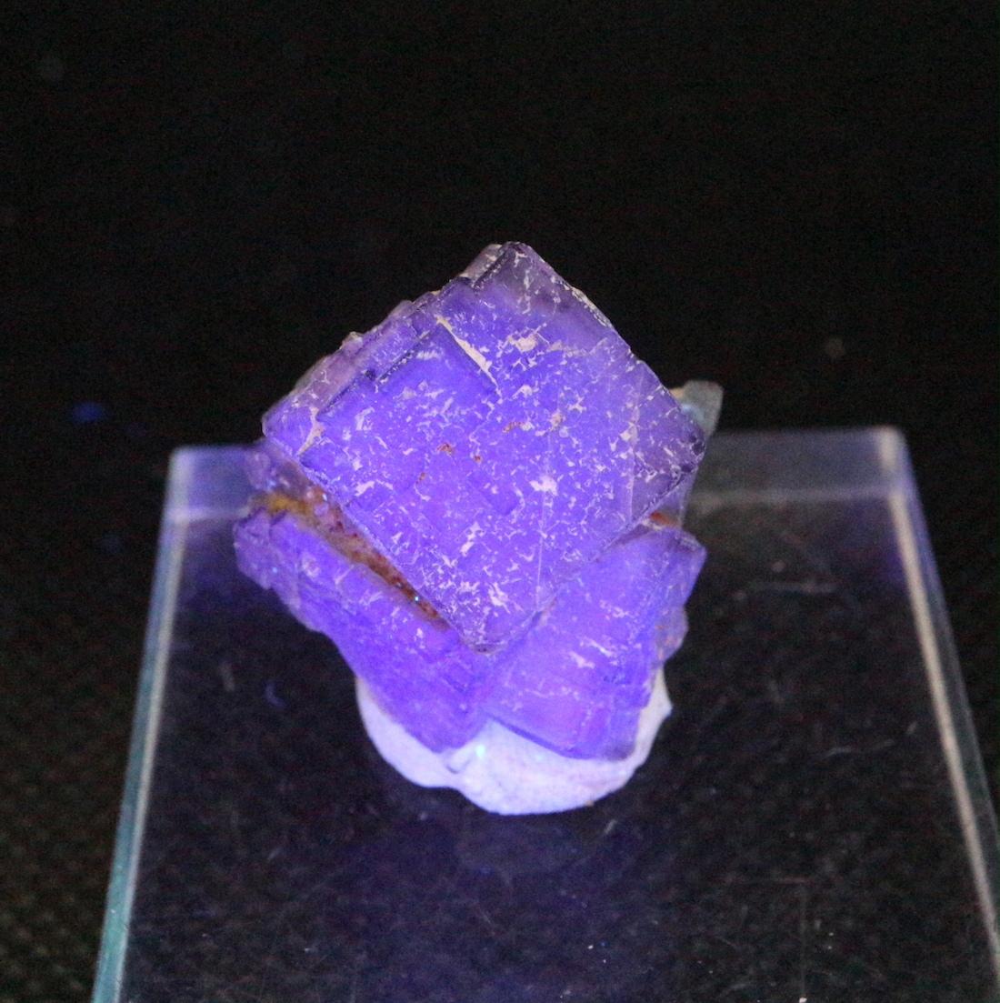 蛍石 フローライト ニューメキシコ州産 原石 7,9g FL148 鉱物 天然石 パワーストーン