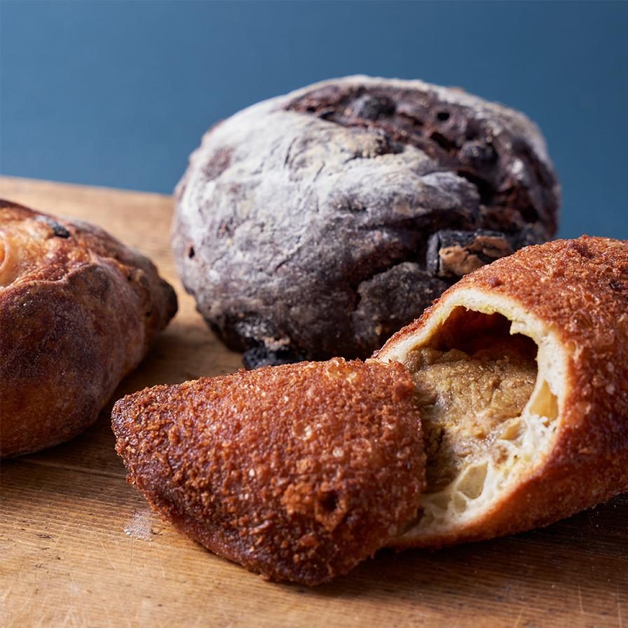 "【Boulangerie NOAN】ノアンの""美味しいところ""よりどりみどり新麦パンセット"