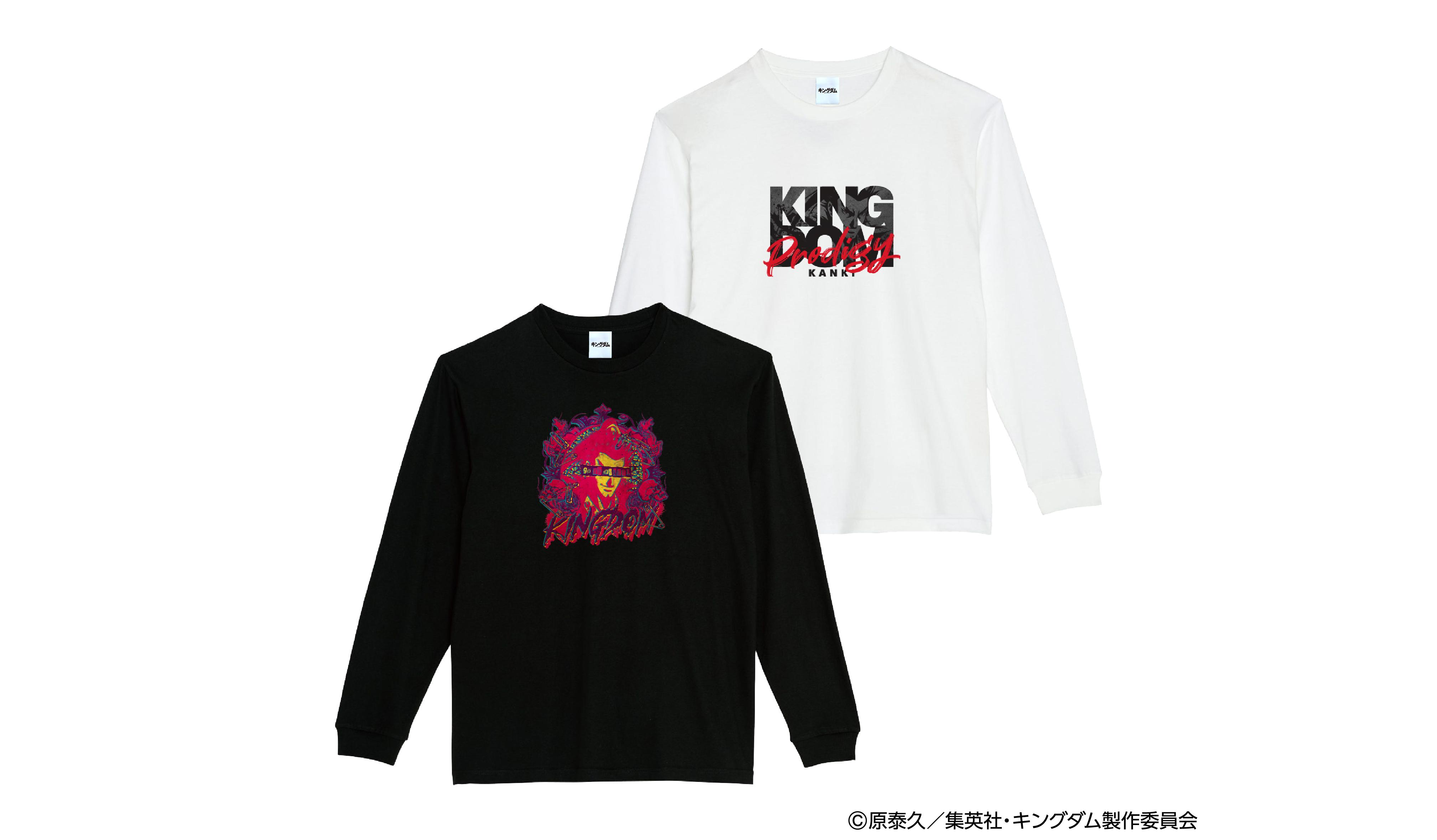 キングダム L/S Tシャツ 桓騎 ※5/28(金)より順次発送※
