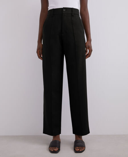 HIGH-WAISTED TAILORED TROUSERS [268101389111]