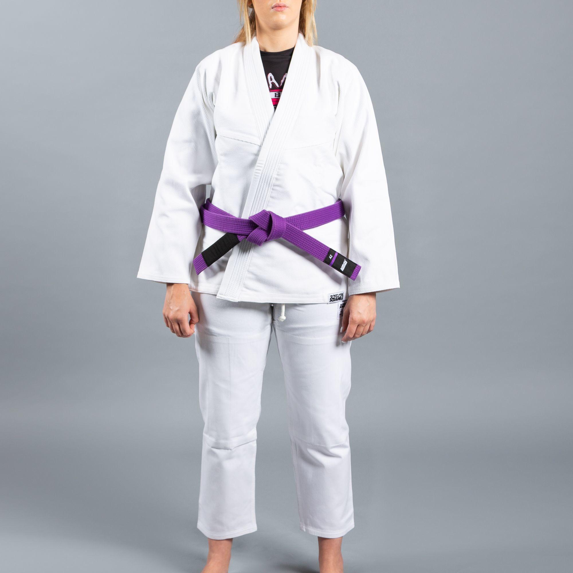 女性用 SCRAMBLE STANDARD ISSUE V2 柔術衣 – レディースカット  ホワイト