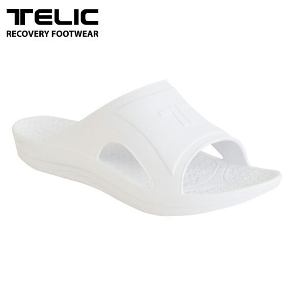 テリック メンズ サンダル リカバリーサンダル TELIC SLIDE WHITE