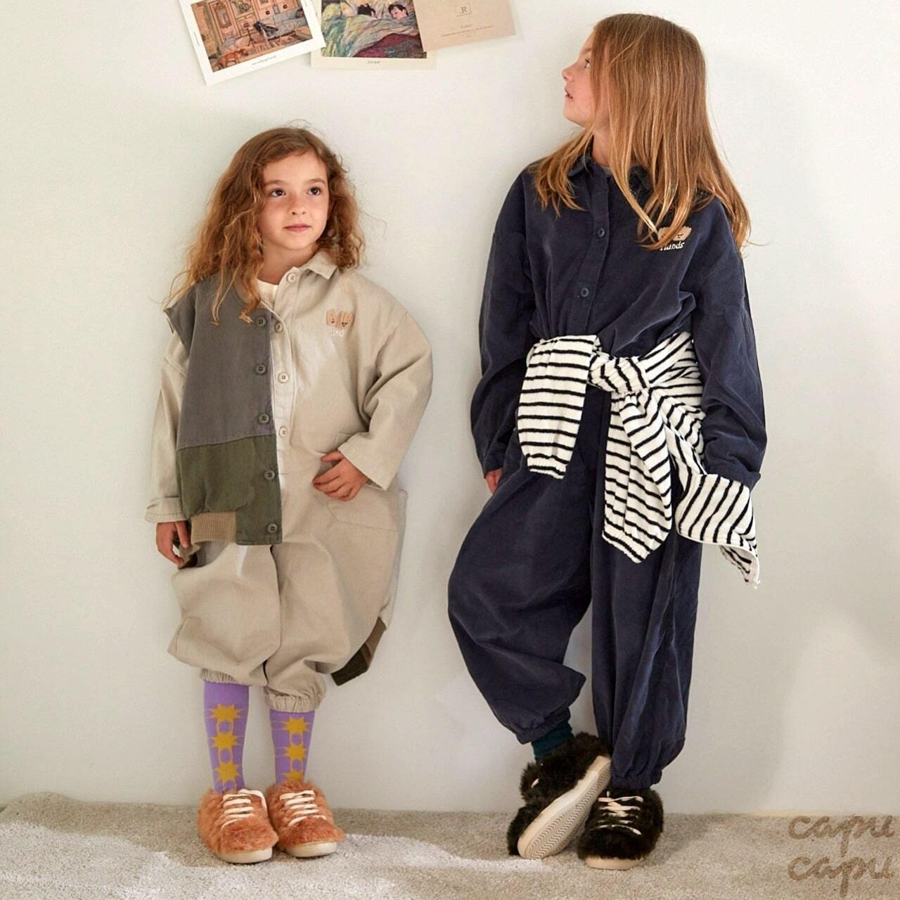 «先行予約割引»«ジュニアサイズあり» jejeunosity bobo jump suit 2colors ボボジャンプスーツ