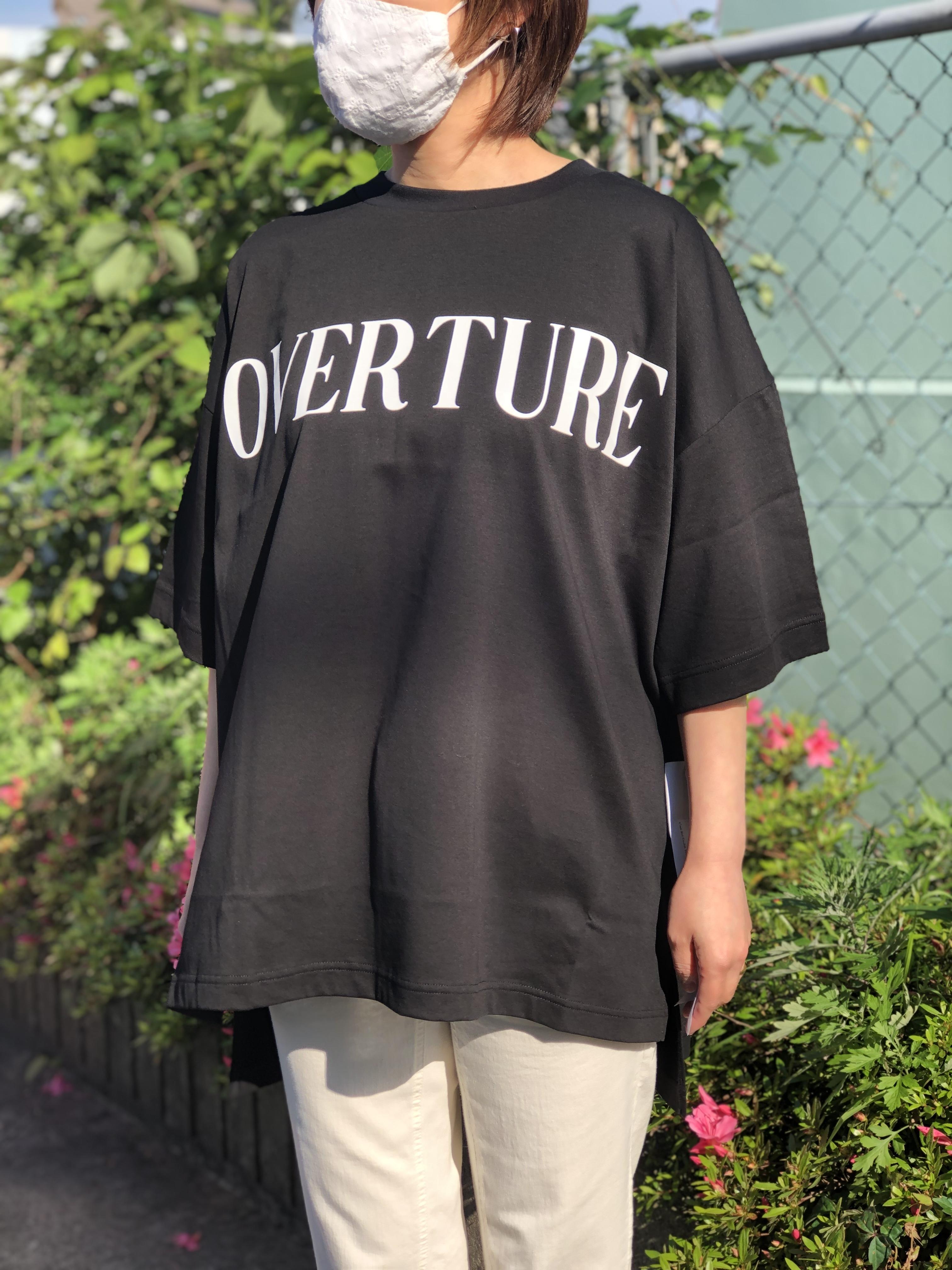 Dignite Collier/802320/ワイドTシャツ(ブラック)