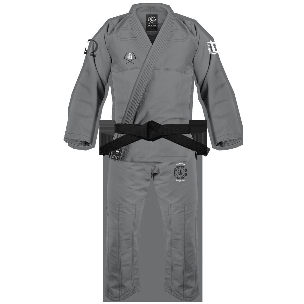 WAR TRIBE GEAR REAPER GI グレイ ブラジリアン柔術衣(柔術着)