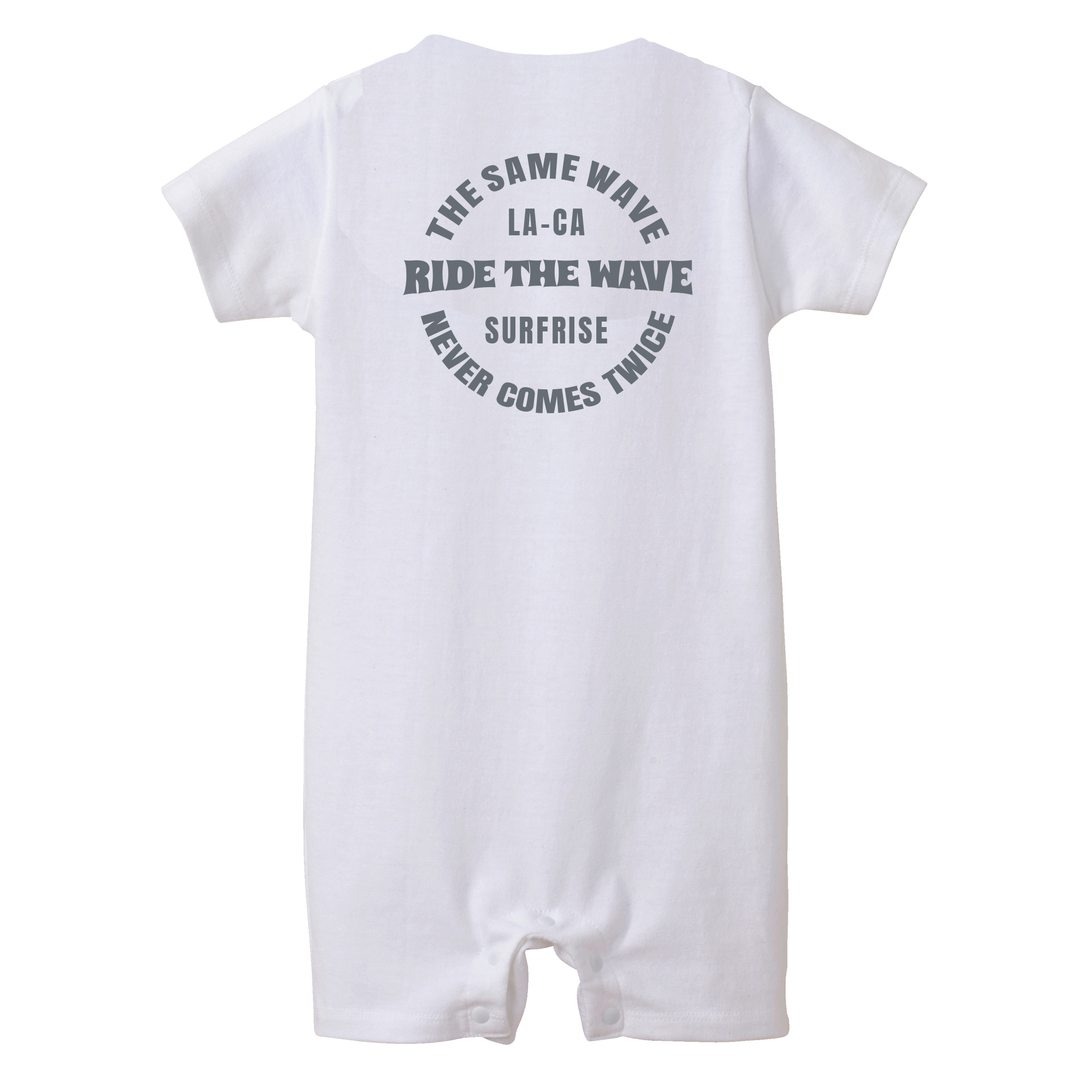 ★Baby★ RideTheWave Rompers - White