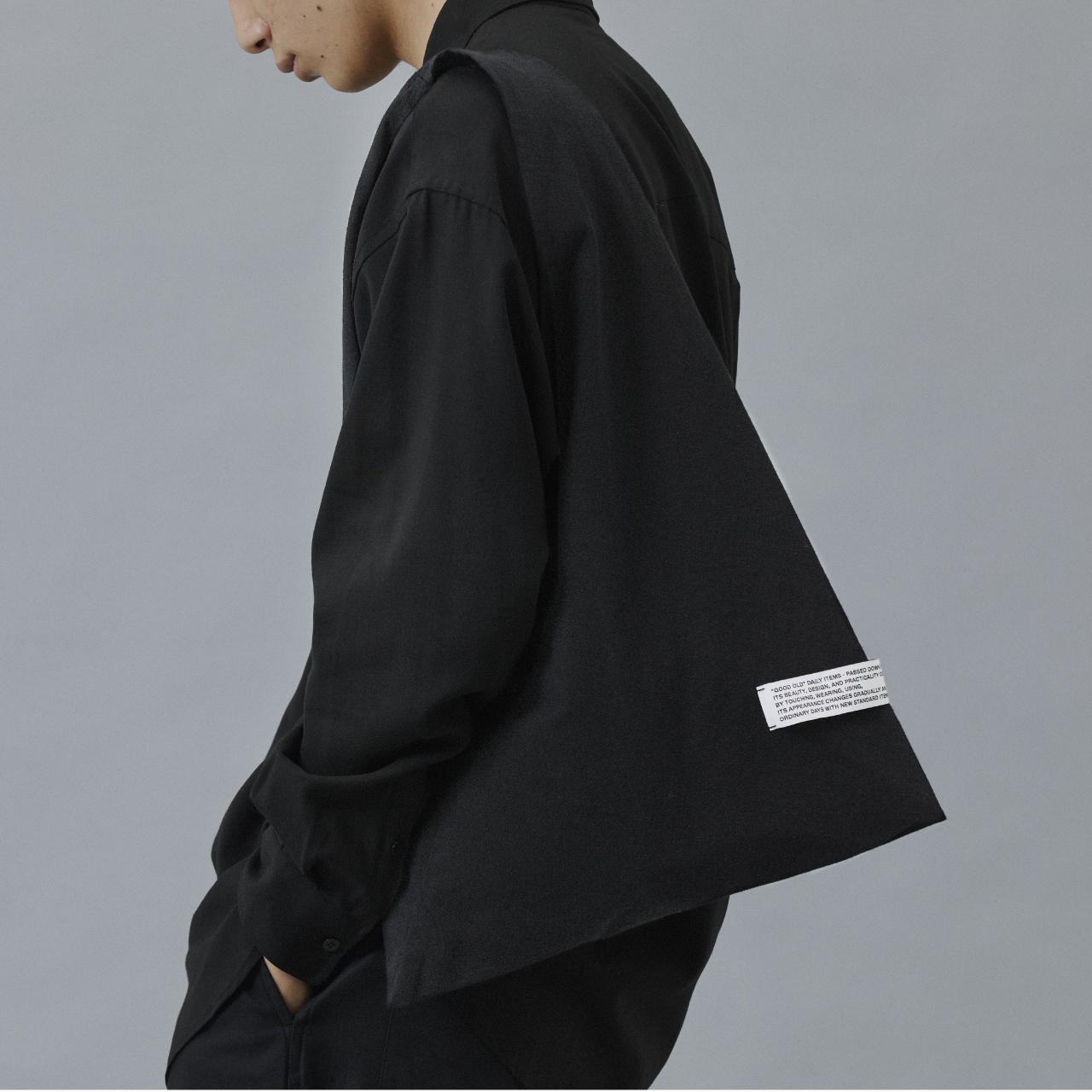 TRIANGLE TOTE BAG CLASSIC / BLACK
