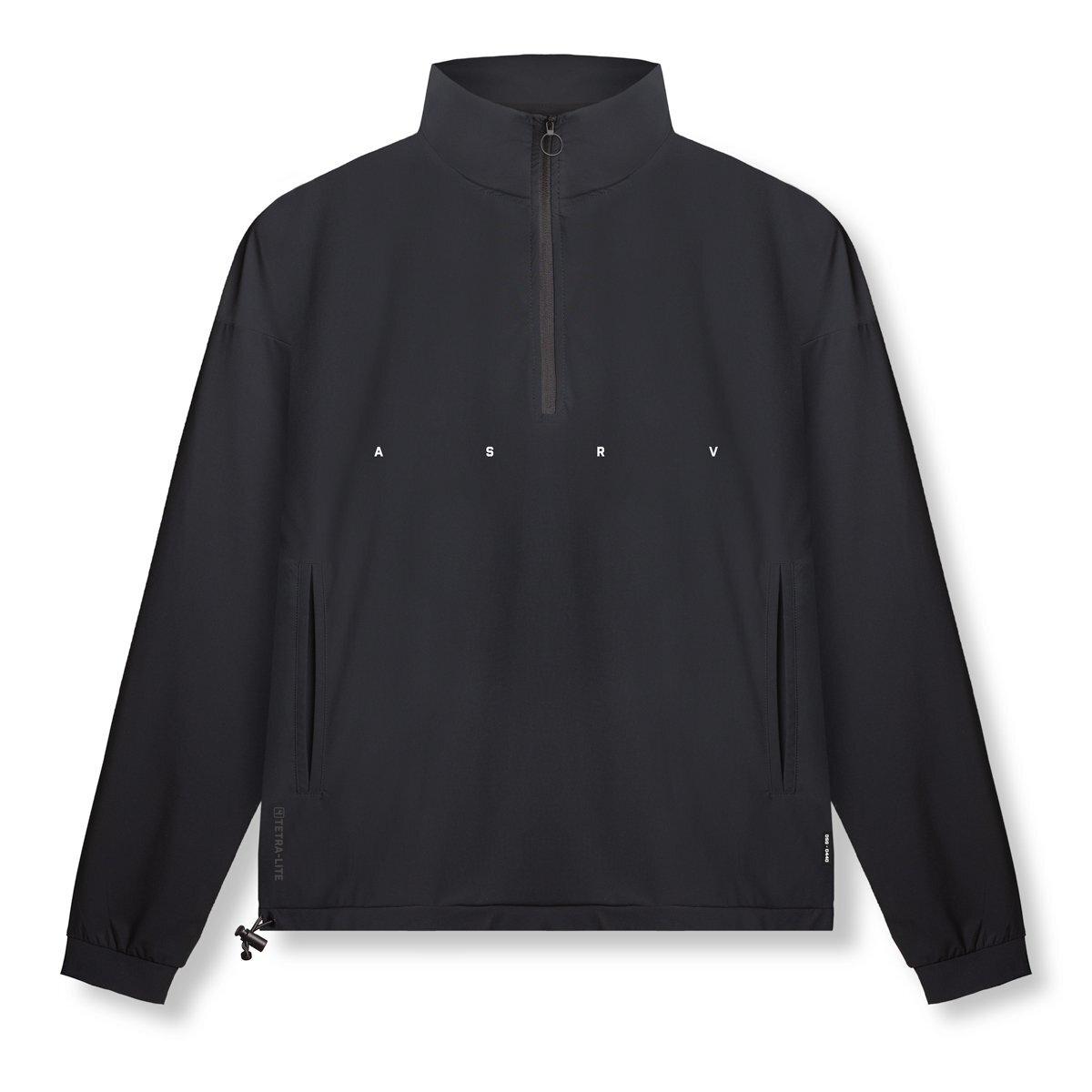 【ASRV】TETRA-LITE® クオータージップジャケット - Black