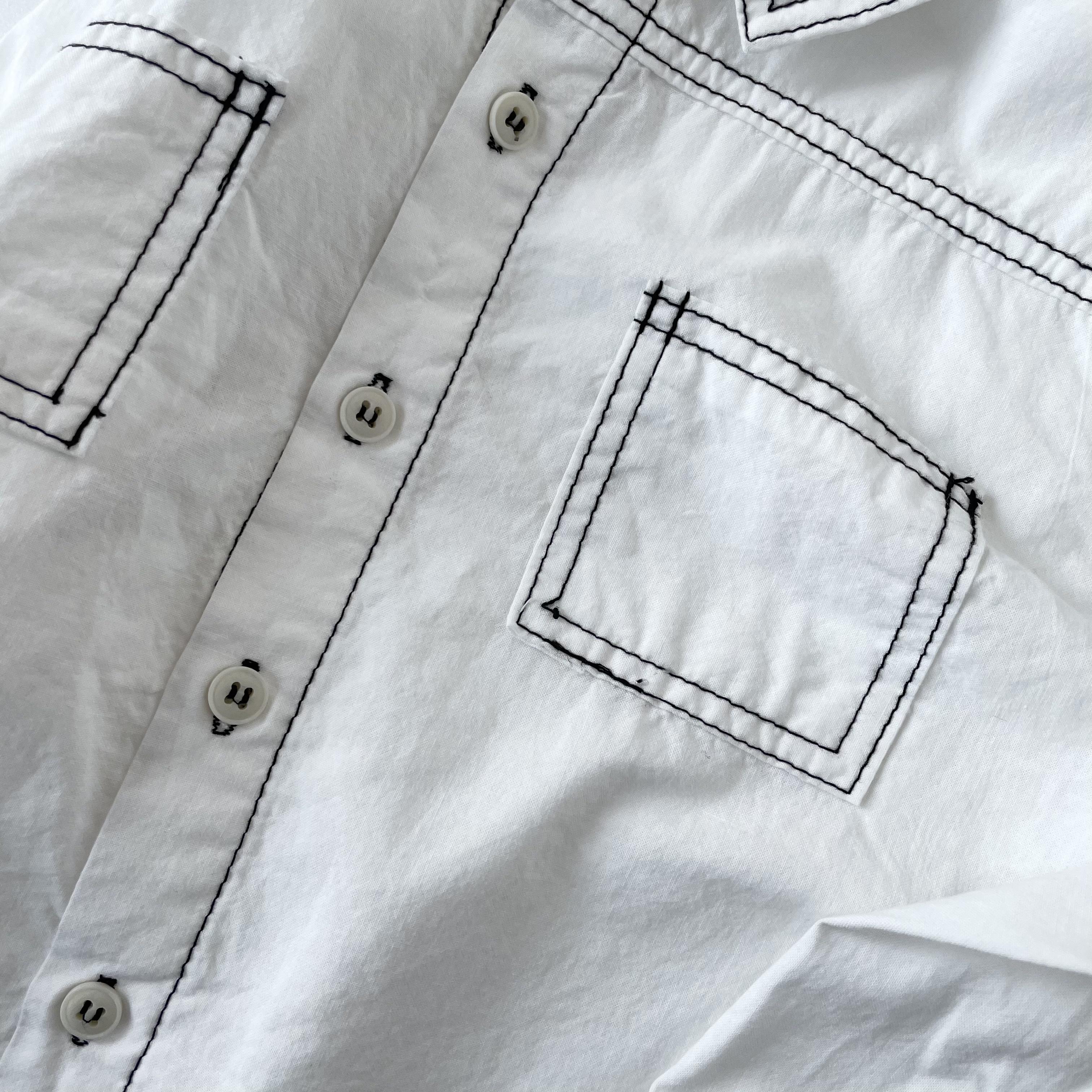 NO.1283 stitch shirt
