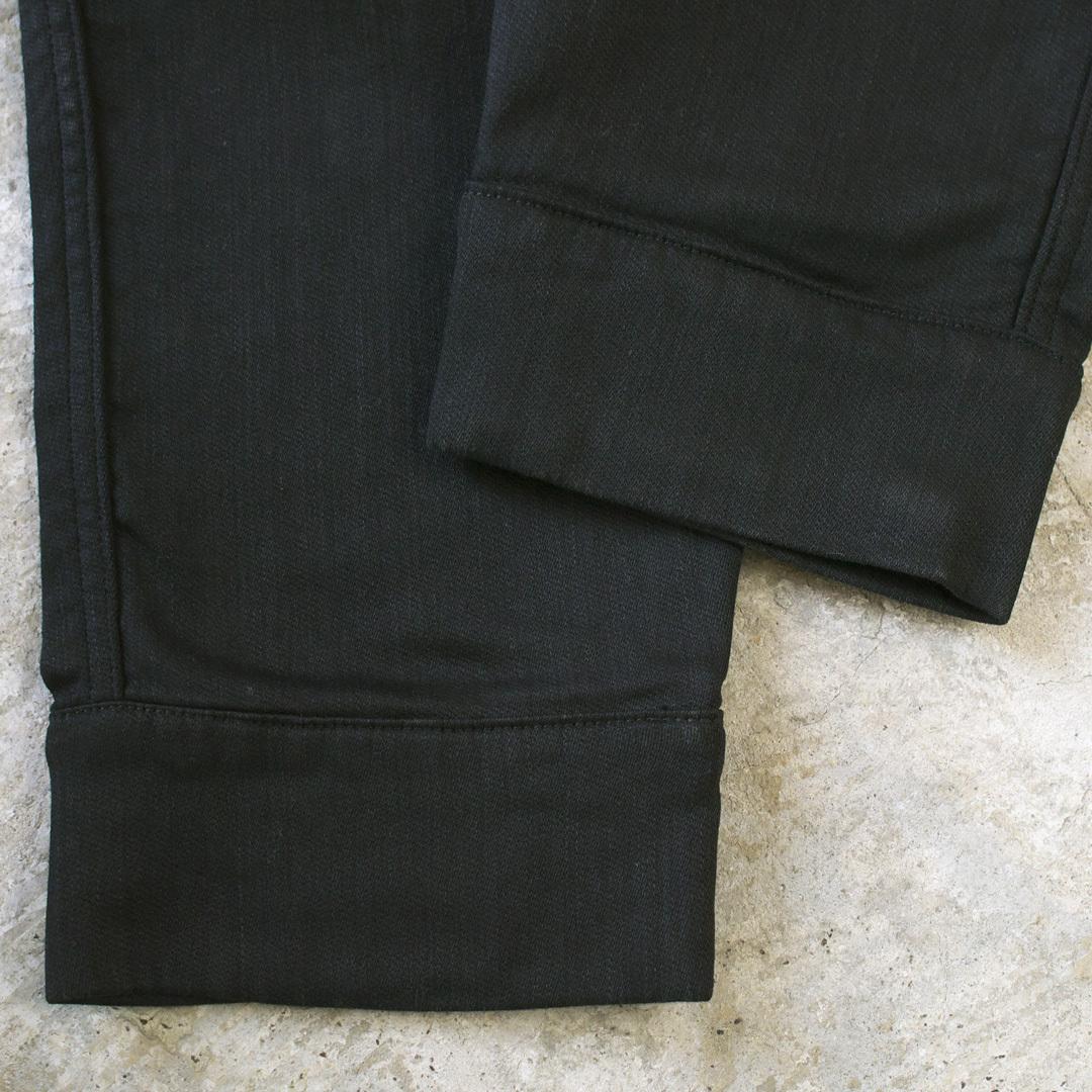 FOB FACTORY エフオービーファクトリー F0404 リラックス・スウェットパンツ・61 : ブラック