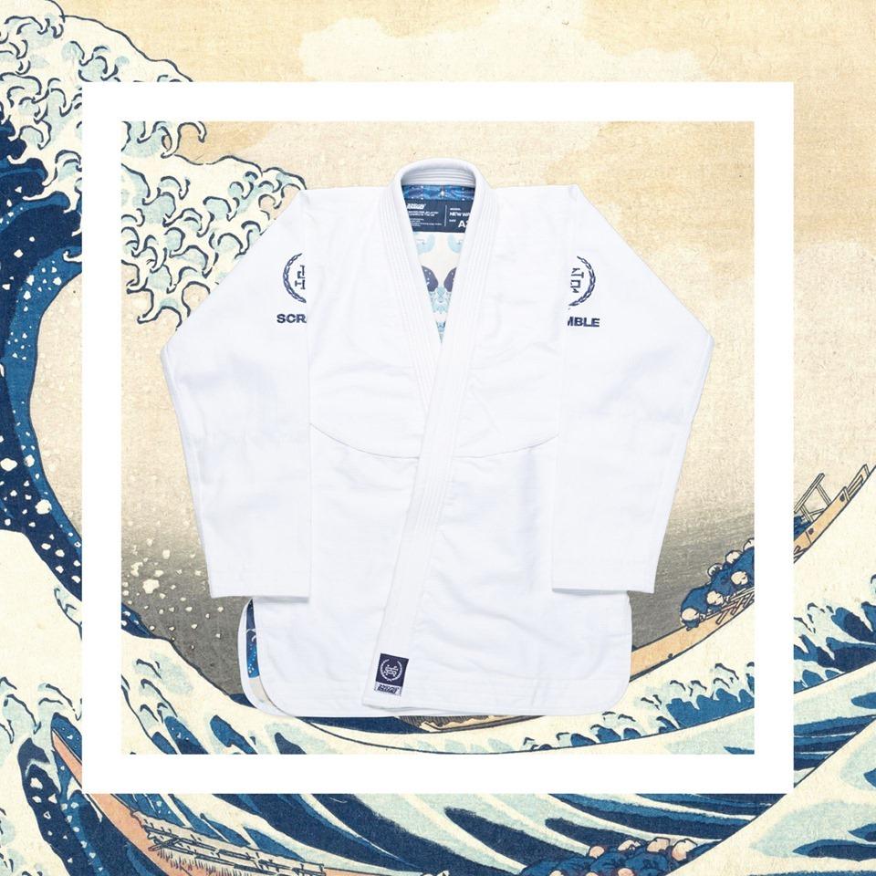 Scramble New Wave BJJ Kimono ホワイト ブラジリアン柔術衣