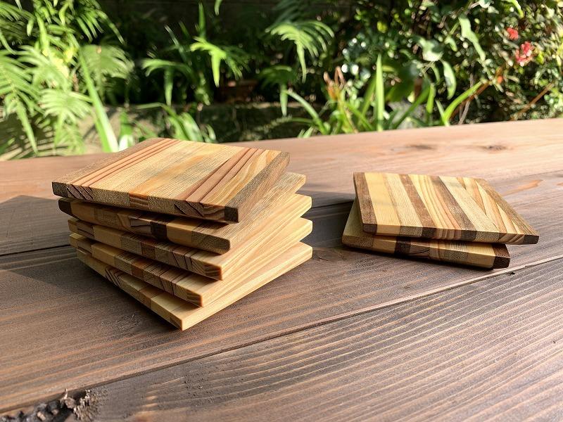 プレート(しましま)【平と米の制作所=平米】平安山なほみ・米須美紀