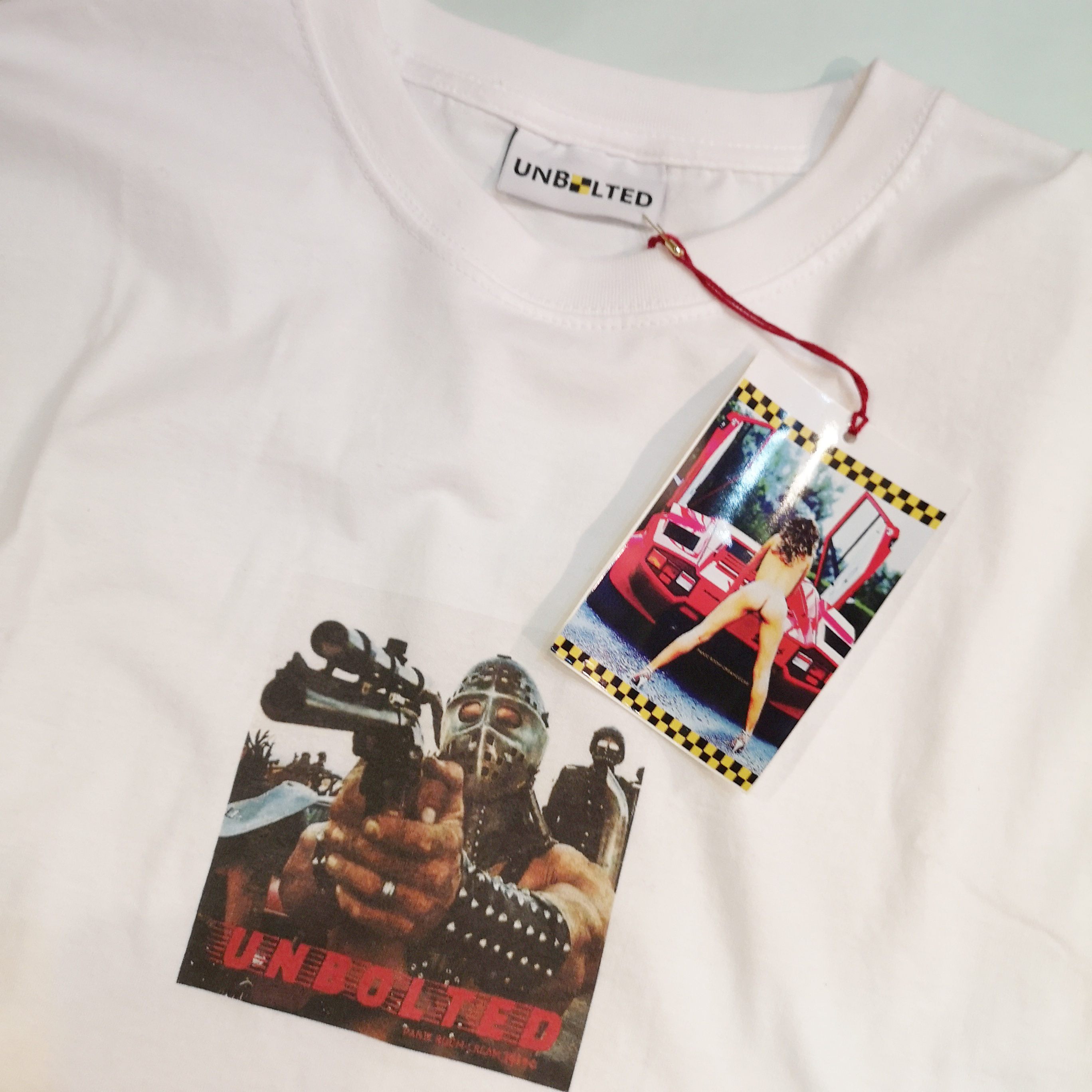 """UNBOLTED """"HUMUNGAS"""" TEE Artwork by FACE"""