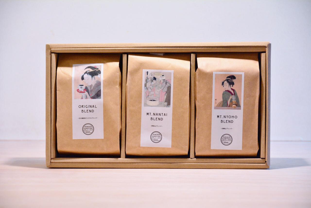 ギフトセット コーヒー豆 200g ×3銘柄