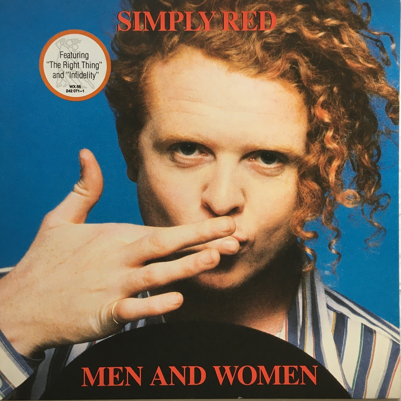 【LP・独盤】Simply Red / Men And Women