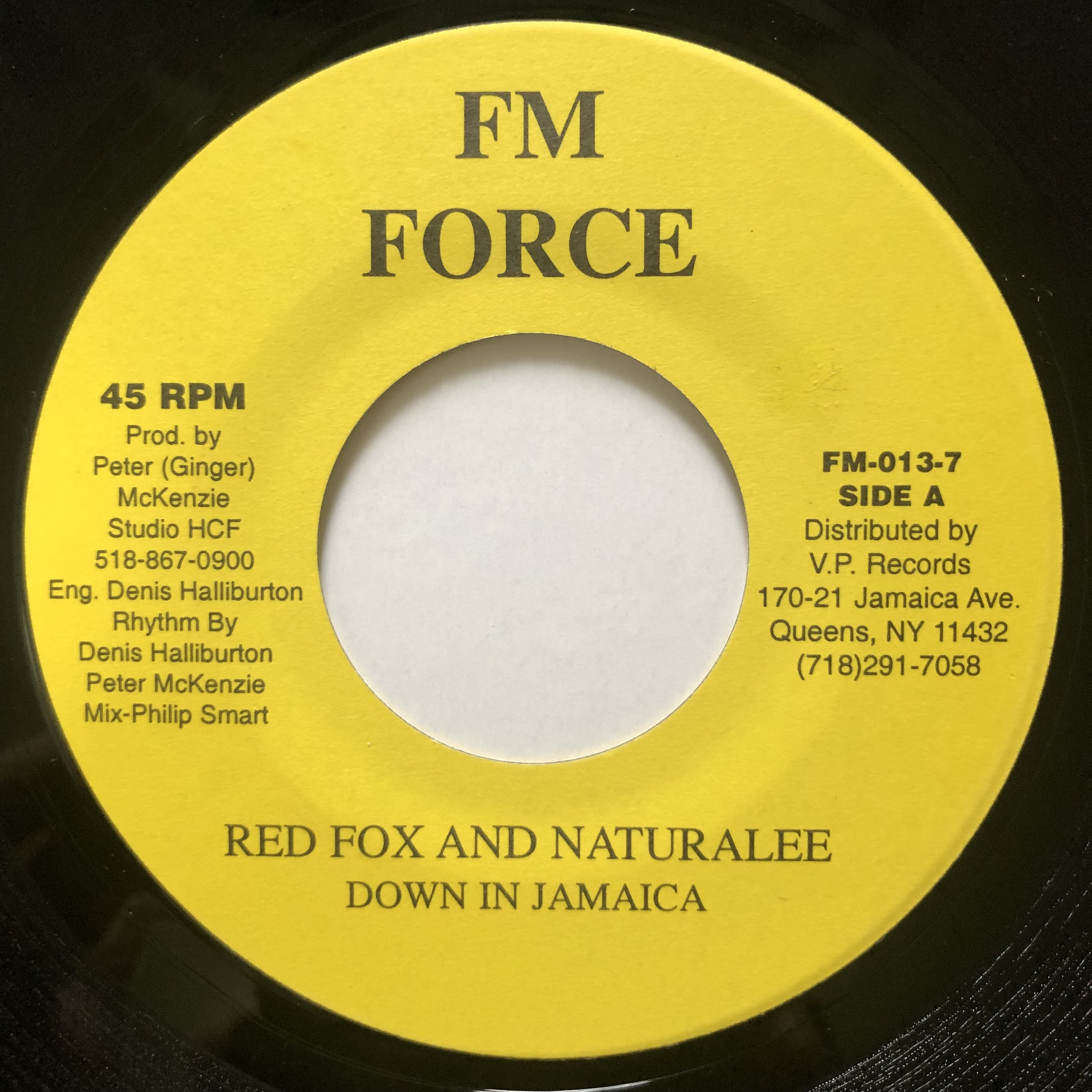 Red Fox, Naturalee - Down In Jamaica【7-20696】