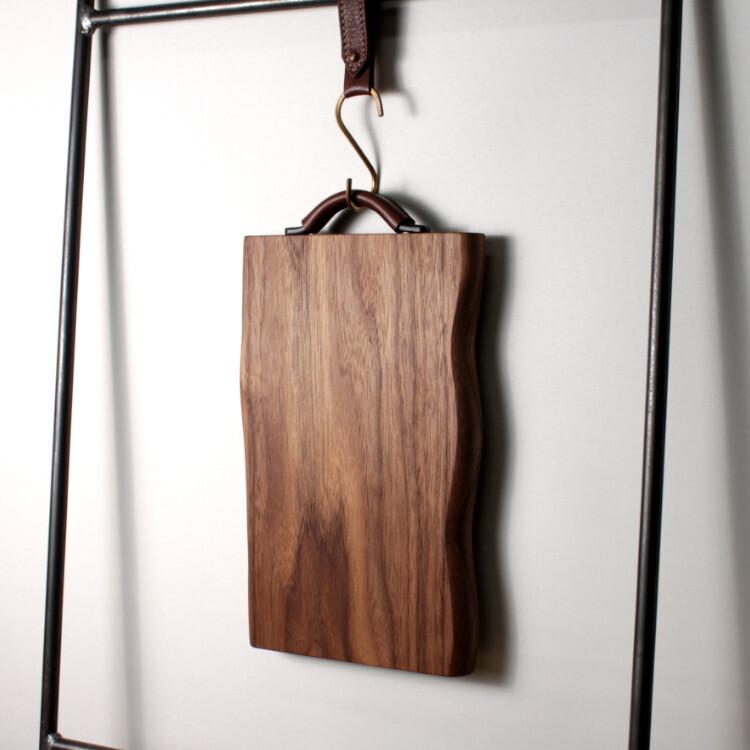 ウォルナット一枚板カッティングボード
