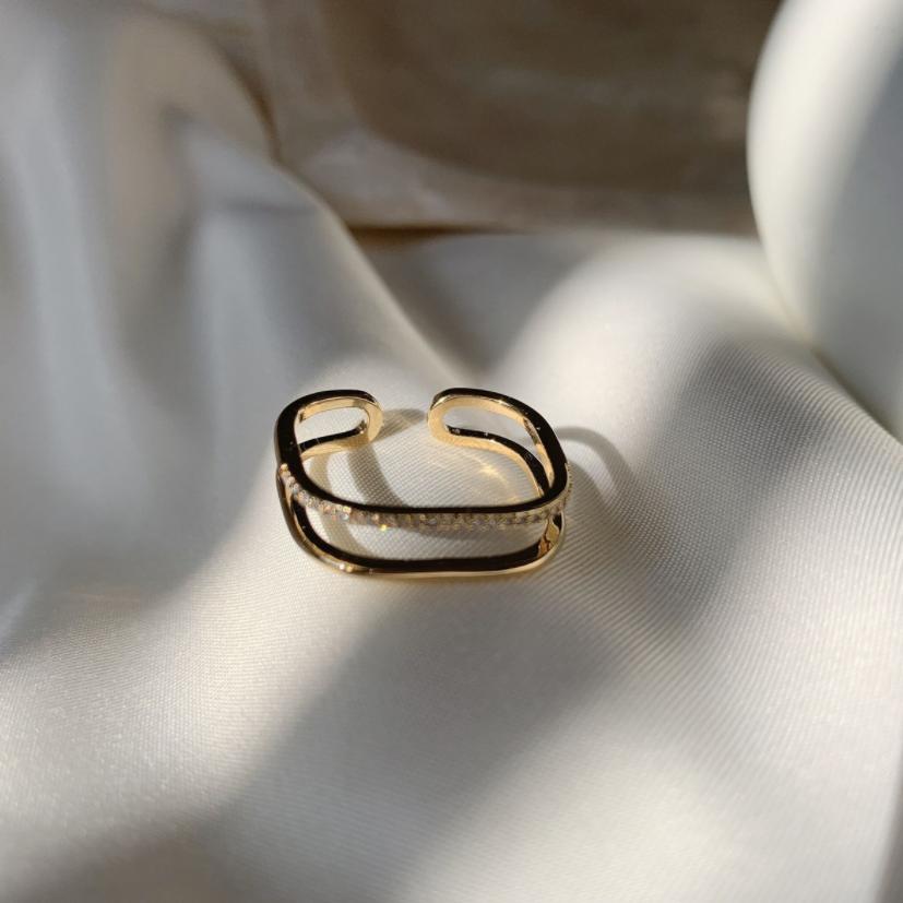 square bijou open ring r039