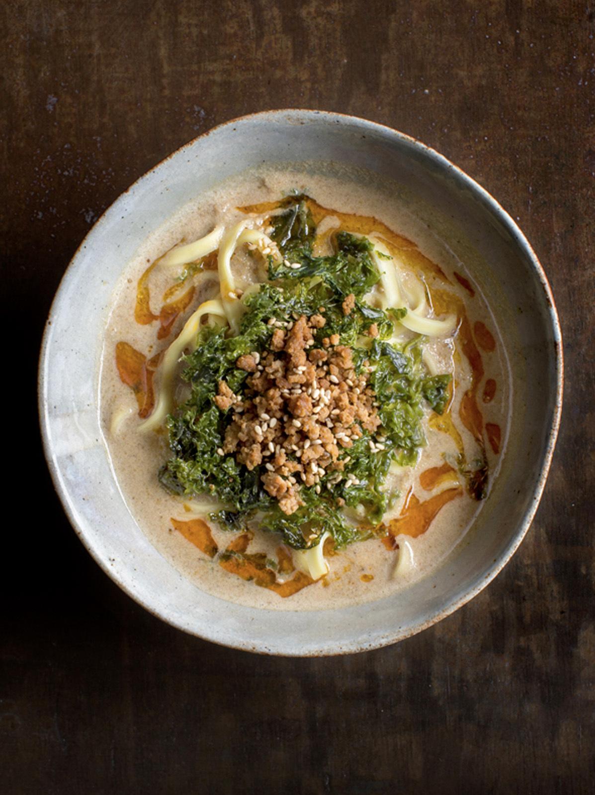 濃厚豆乳坦々麺(3人分 / 冷凍)