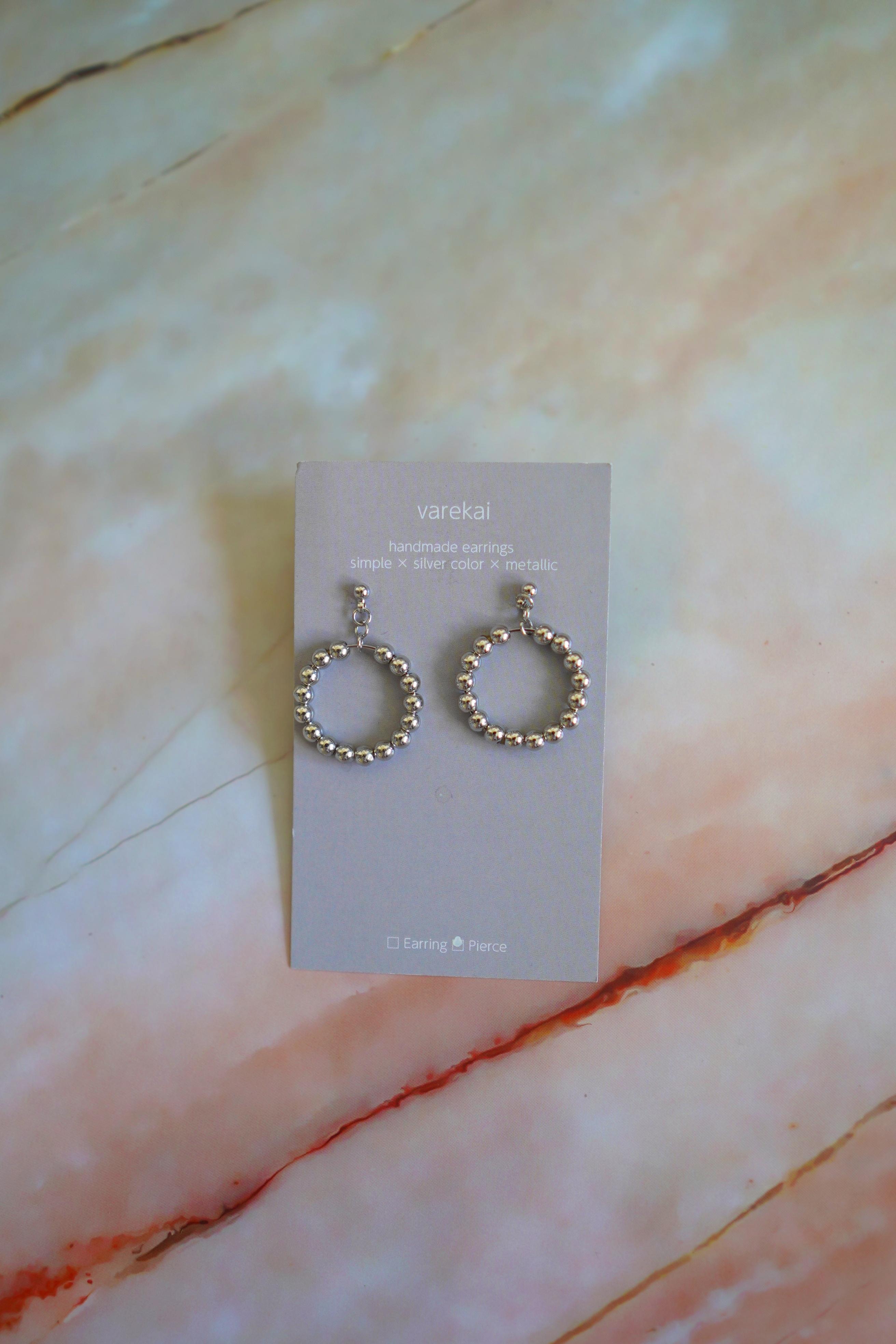 varekai   earring/ pierce