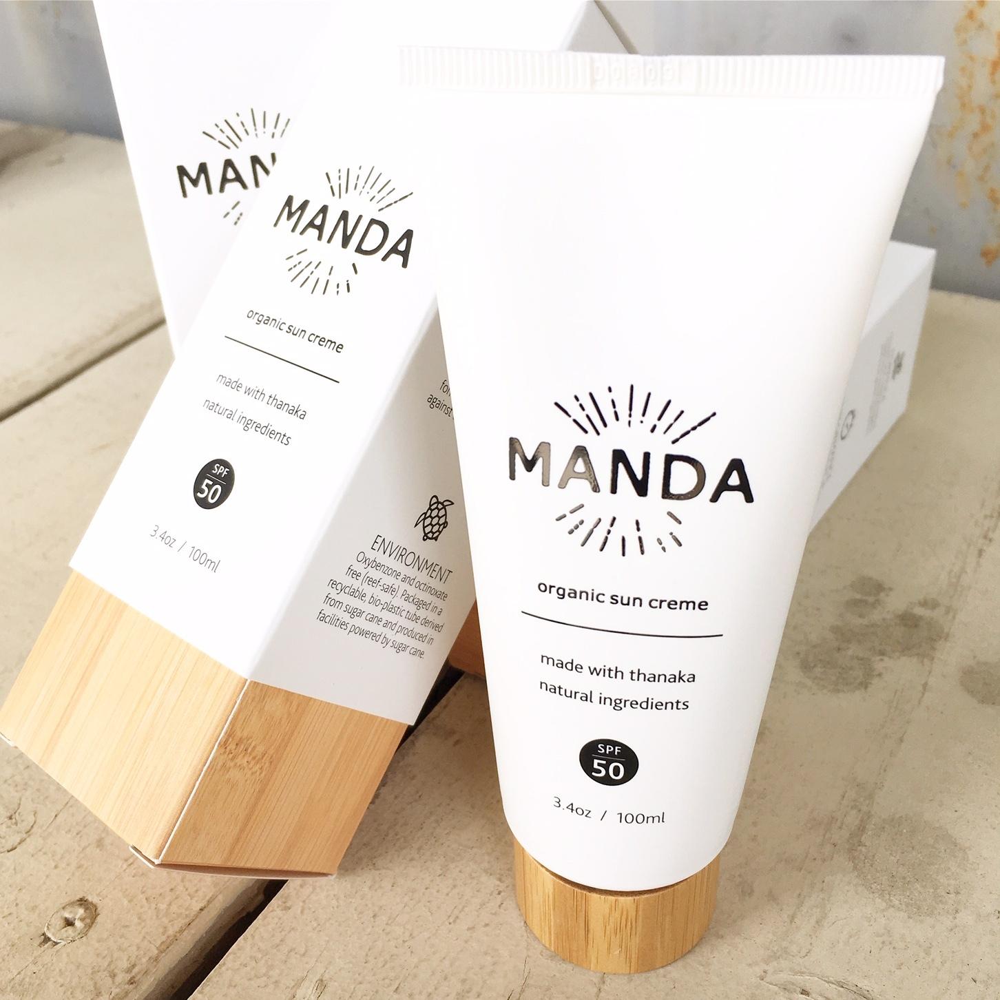 """MANDA """"Sun Cream"""""""