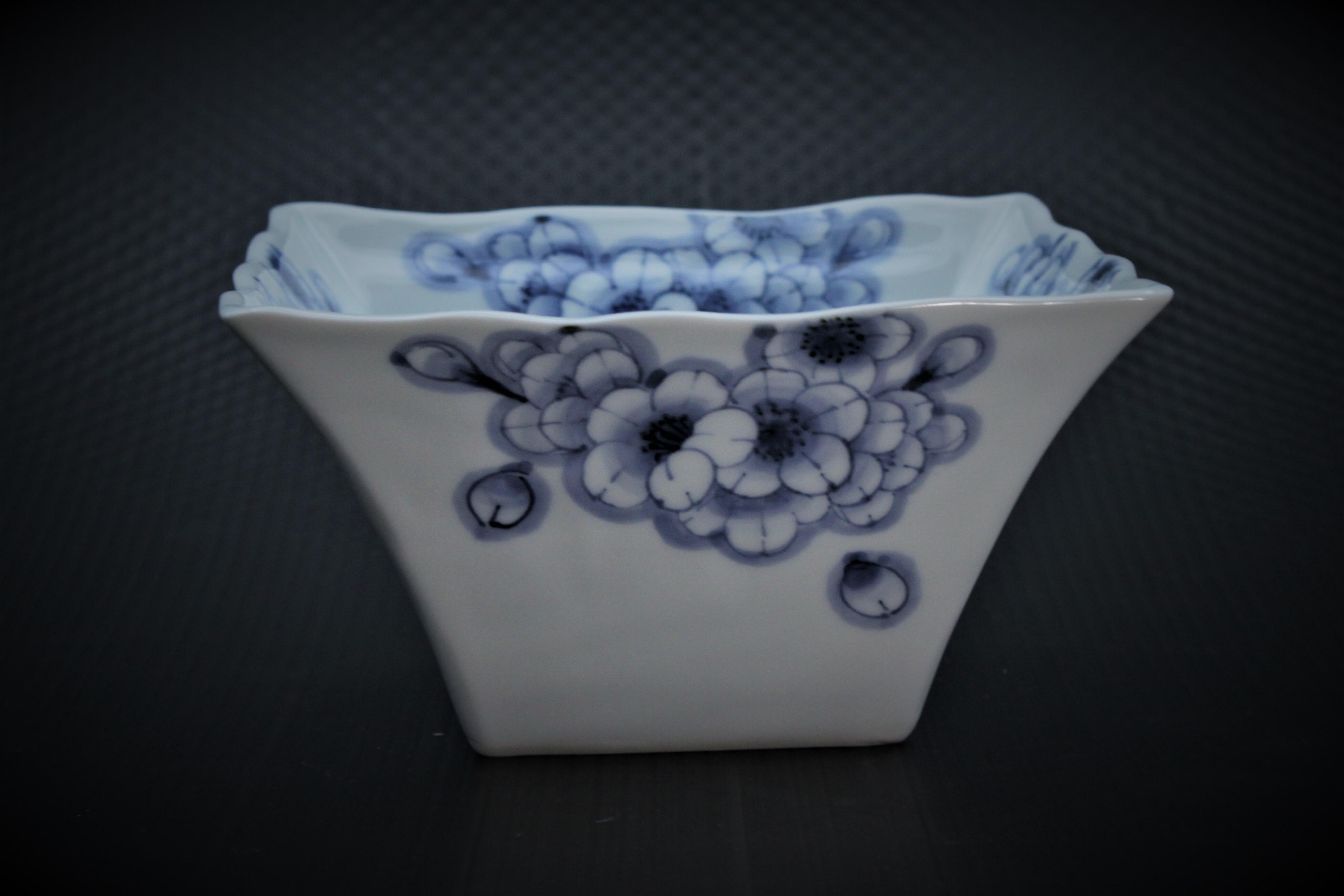 王冠桜角鉢(小)