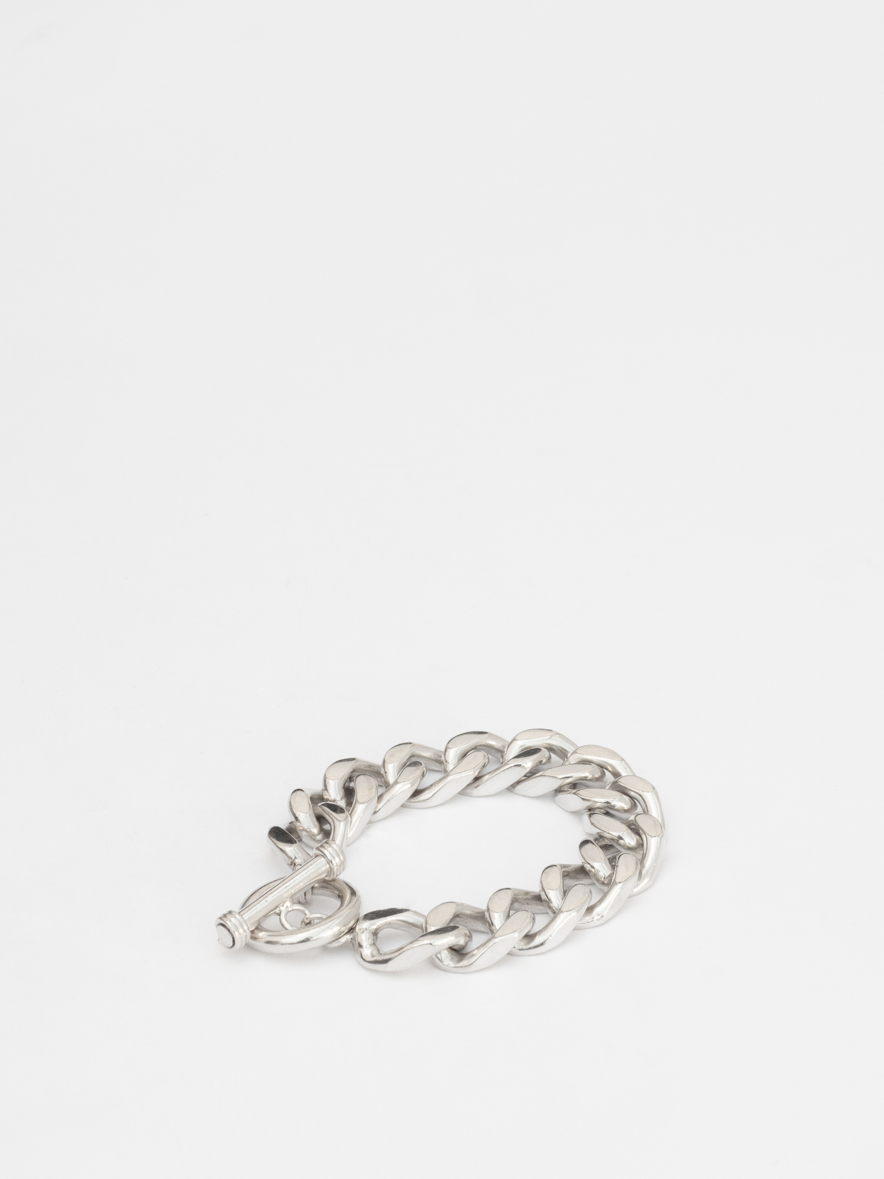Flat Chain Link Bracelet / Mexico