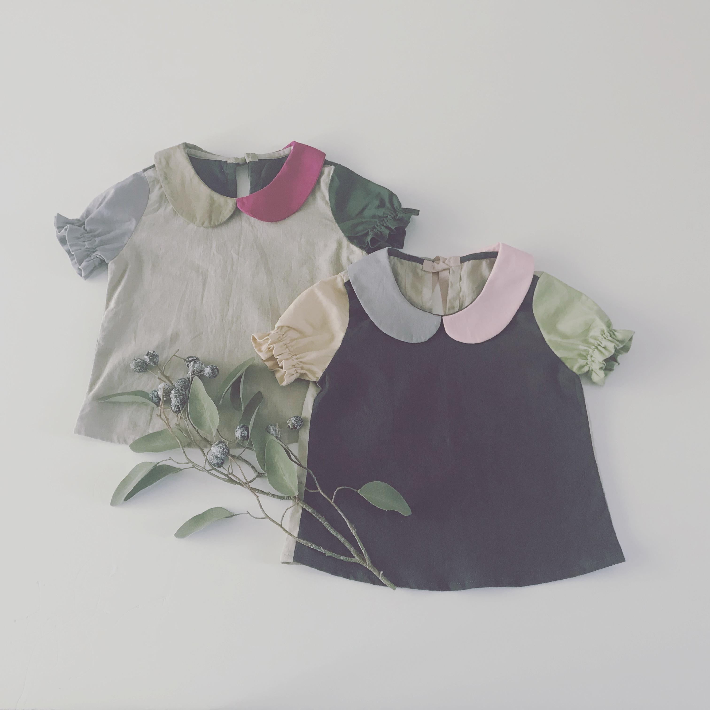 【お教室】03palette丸襟ブラウス(女の子)