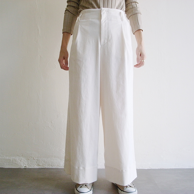 Yangany  【 womens 】corduroy wide pants