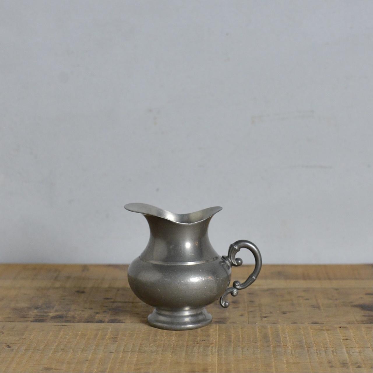 Pewter Milk Pot  / ピューター ミルクポット〈クリーマー・フラワーベース・一輪挿し・ペン立て〉 112131