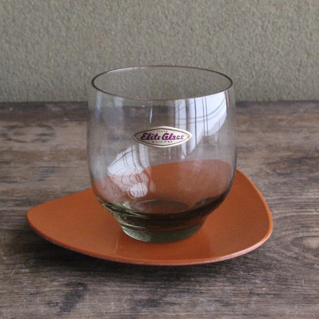 エリートグラス スモークグリーンのグラス 在庫5客