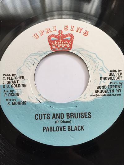 Pablove Black (パブローブ・ブラック) - Cuts And Bruises 【7'】