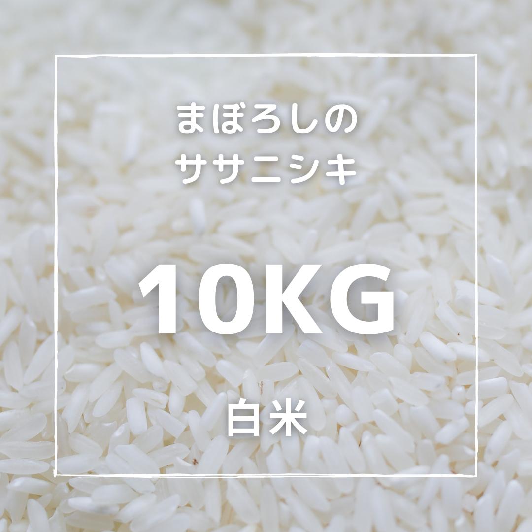 まぼろしのササニシキ 白米 10kg