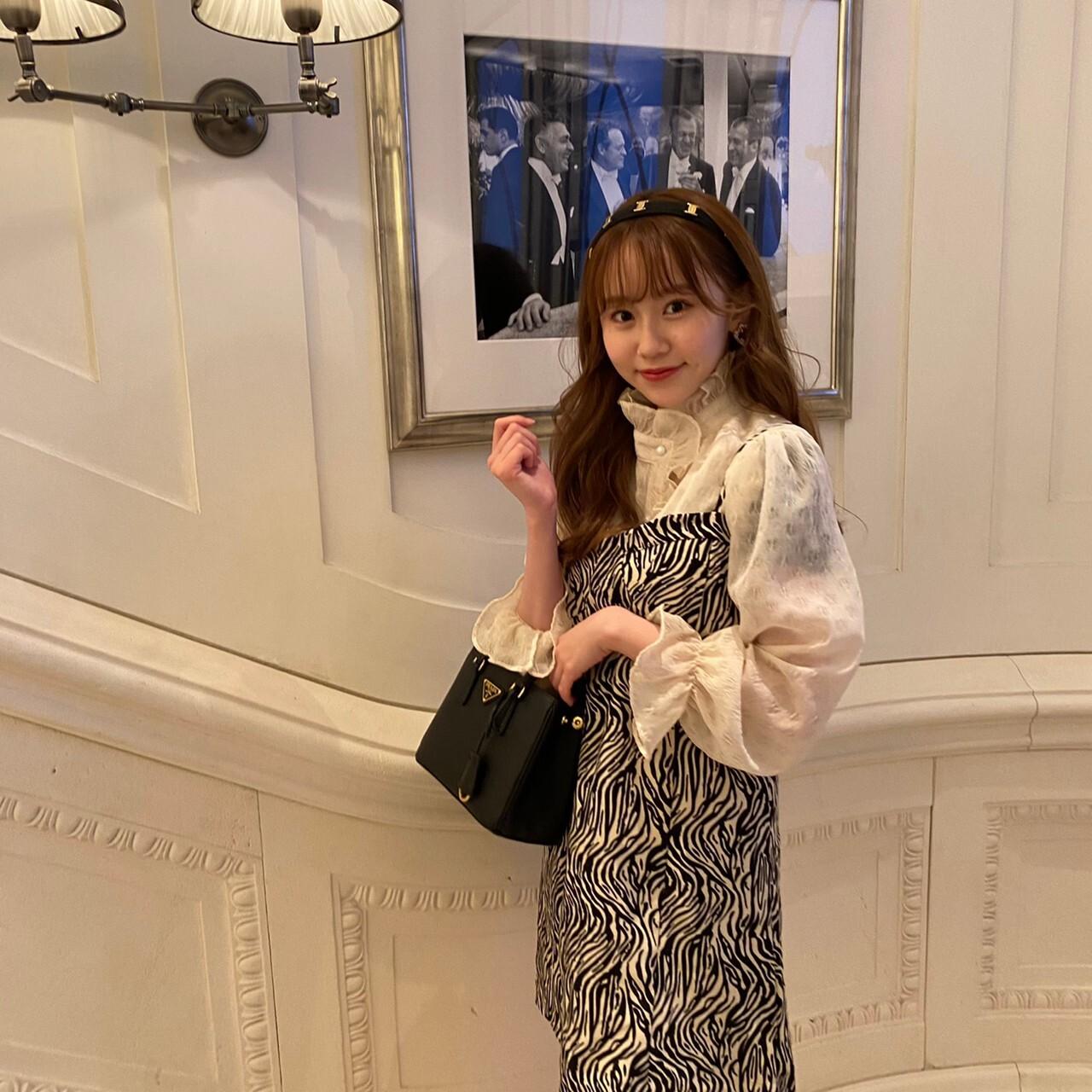 frill vintage blouse