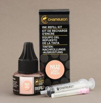 Chameleon Pen Ink Refill 25ml Light Peach NU2 (カメレオンペン 詰替え用インク NU2)