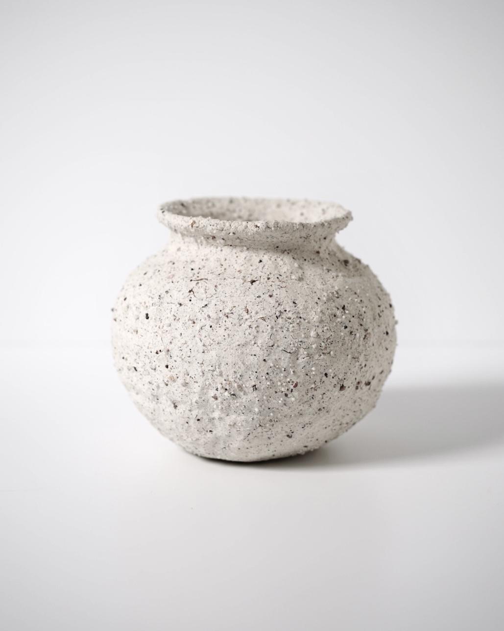 小黒ちはる / 壺 土器 (酸化焼成)