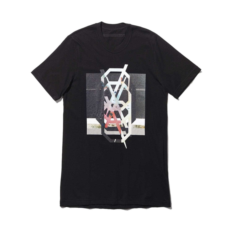 740CPM3-BLACK / NILøS プリント Tシャツ ver.3