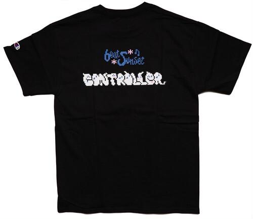 CONTROLLER × beat sunset JAMAICAN JAZZ Tシャツ(Black)