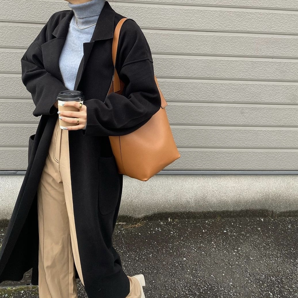 DAYNYC Leather tote bag