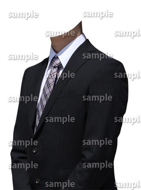 男性ビジネススーツ斜めA