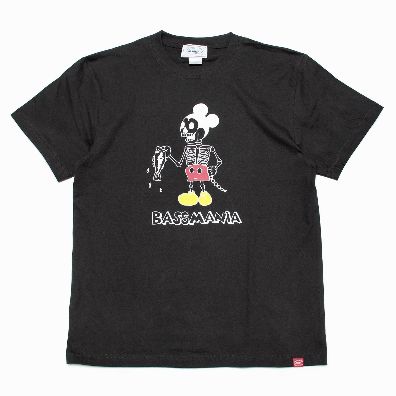 Bone mouse Tシャツ [SUMIBLK]